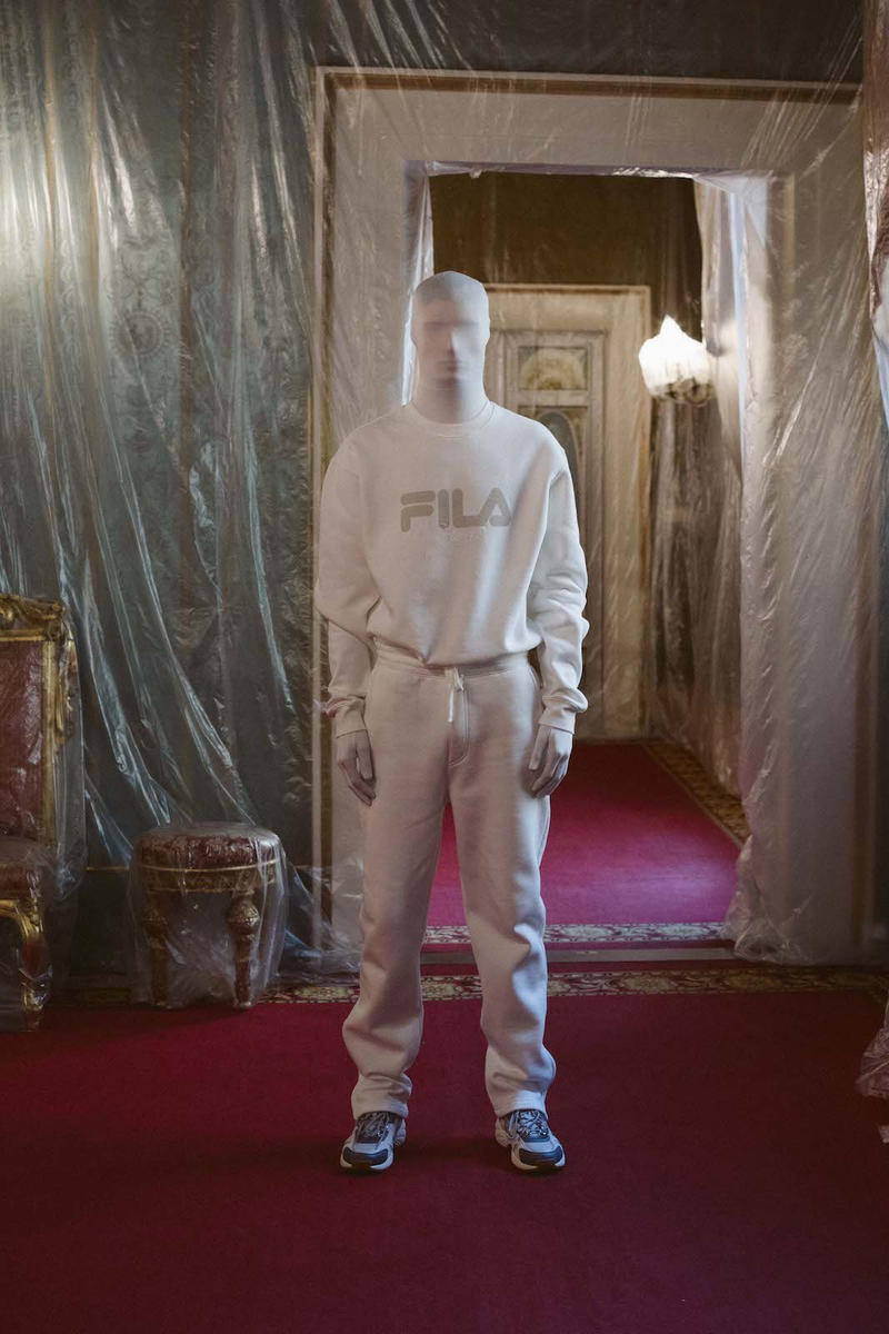 FILA Fjord Pitti Oumo Fall/Winter 2019 Collection Astrid Andersen Elgar Johnson Premium Line Debut Presentation