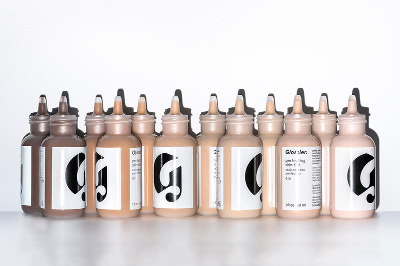 Glossier Perfecting Skin Tint 12 Shades New Expand Expansion Inclusivity Makeup Beauty Emily Weiss Fenty Effect Cosmetics