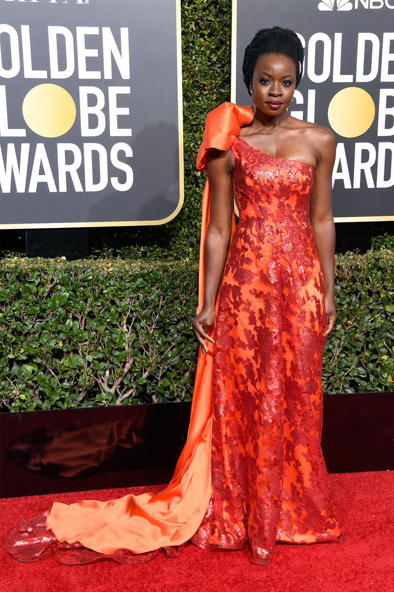 best red carpet looks 2019 golden globe awards lupita nyongo danai gurira constance wu janelle monae black panther lady gaga crazy rich asians troye sivan