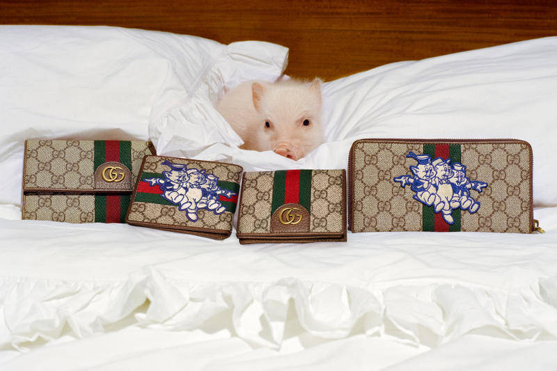 Gucci Chinese New Year 2019 Year of the Pig Campaign