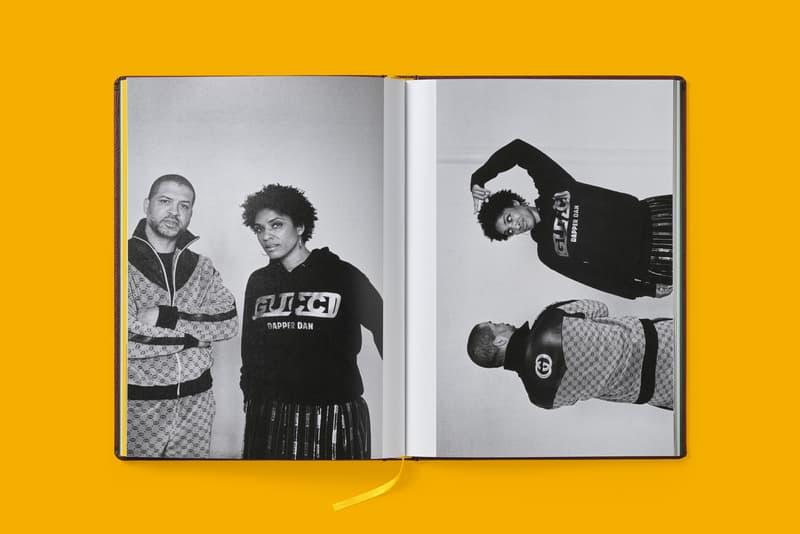 Gucci Dapper Dan's Harlem Book Ari Marcopolous Logo Tracksuit Brown Sweater Black