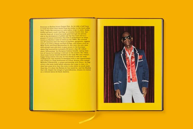 Gucci Dapper Dan's Harlem Book Ari Marcopolous Top Red Jacket Blue