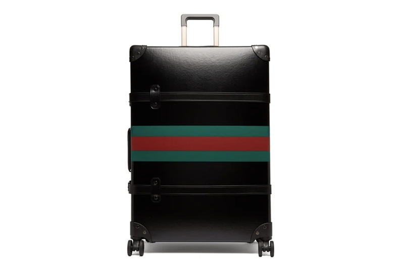 Gucci Globe-Trotter Black Leather Suitcase