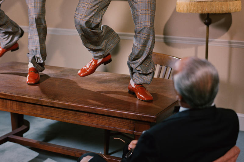 Gucci Spring Summer 2019 Campaign Shoes Red