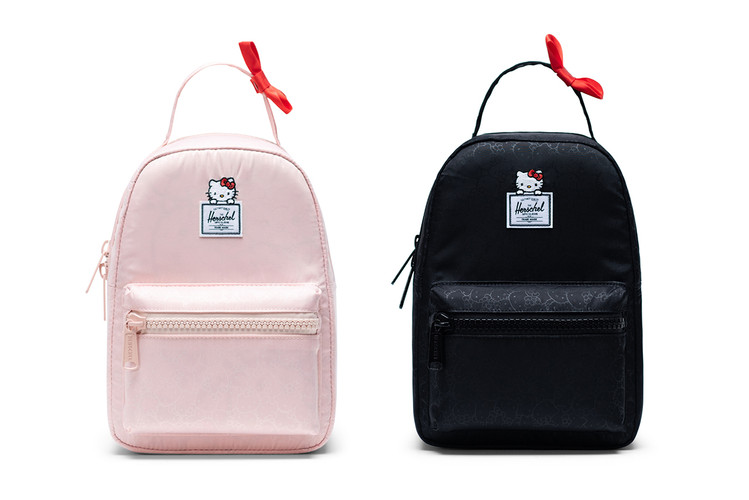9c5c78f2d9d4 Hello Kitty Puts Her Bow on a Backpack Collaboration With Herschel Supply