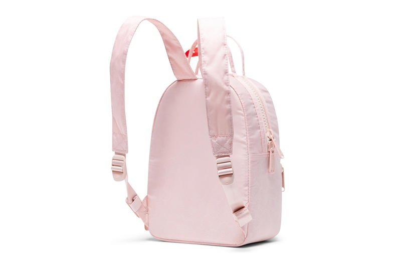 hello kitty herschel supply backpacks collaboration nova mini pink back