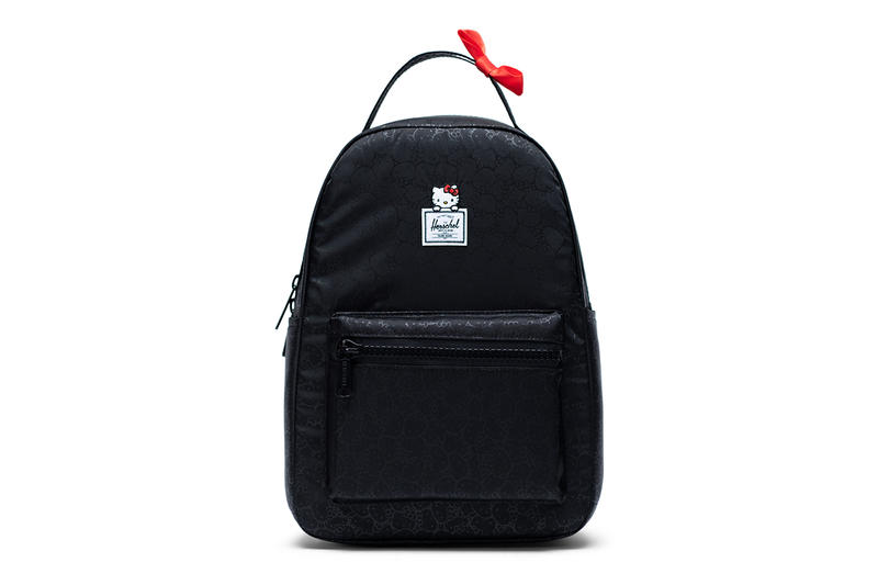 hello kitty herschel supply backpacks collaboration nova XS black