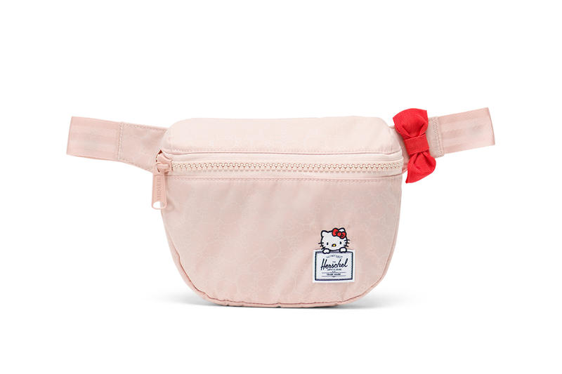 hello kitty herschel supply backpacks collaboration fifteen hip pack fanny pack pink