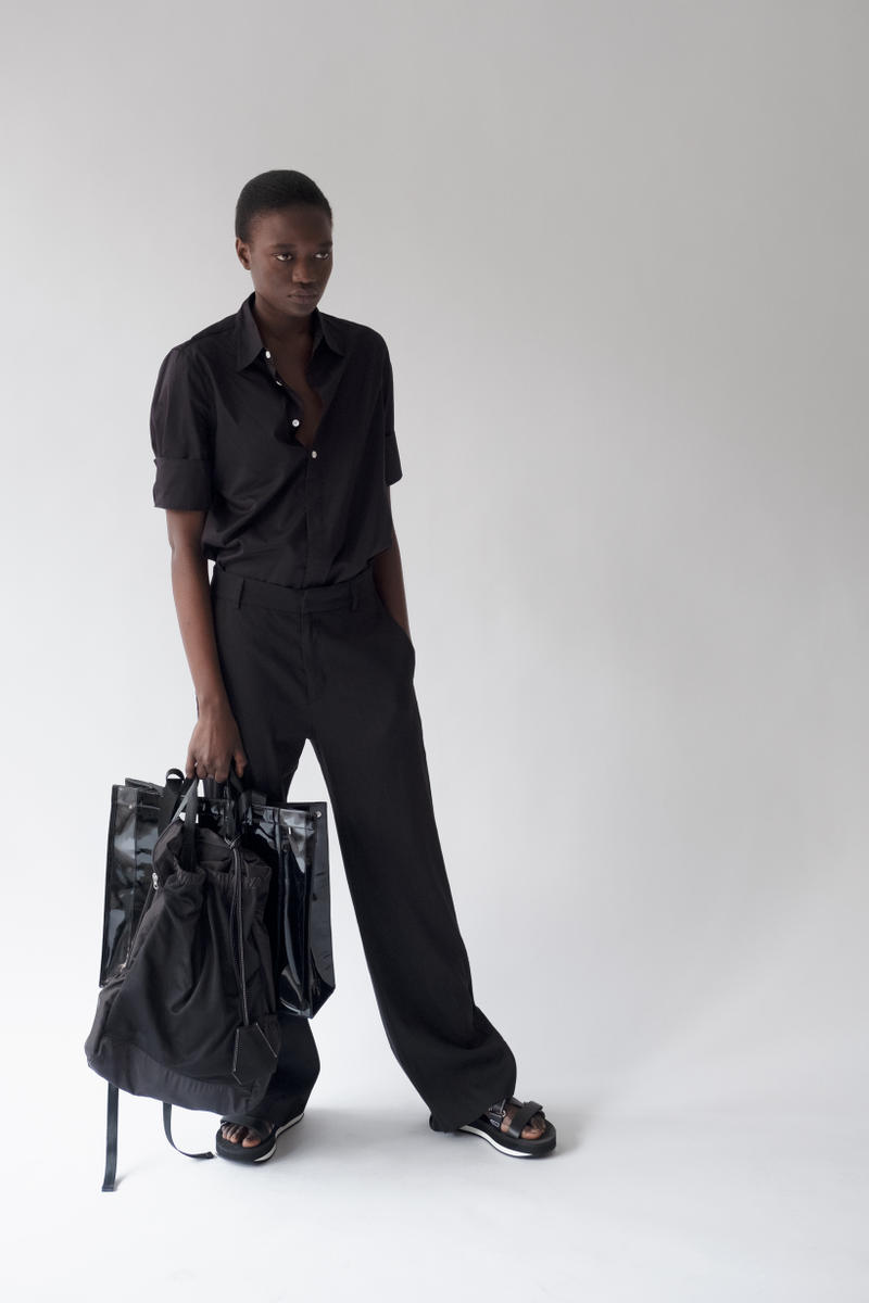 HOPE Pre Fall 2019 Lookbook Top Pants Black