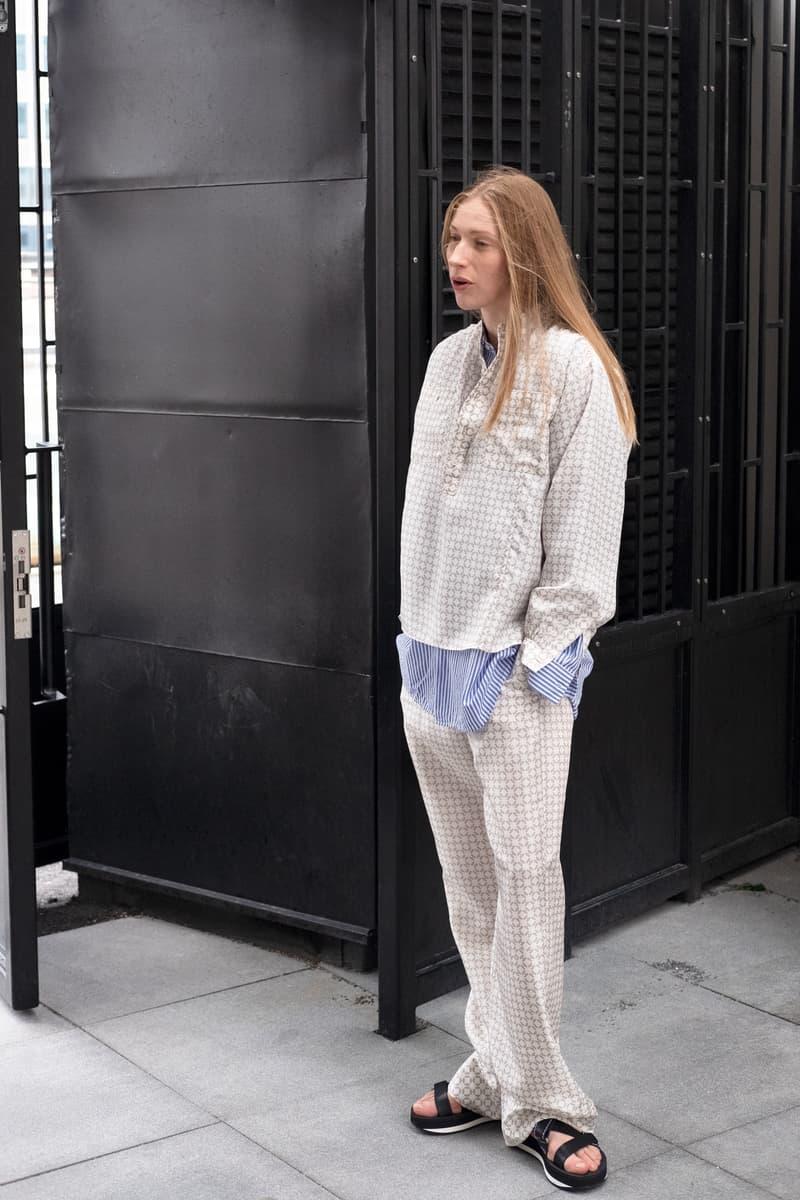 HOPE Pre Fall 2019 Lookbook Top Pants Cream