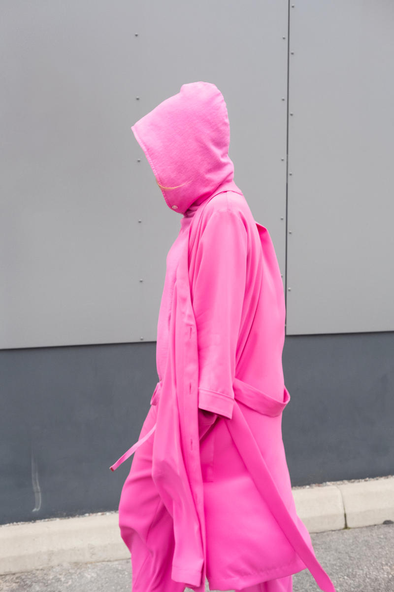 HOPE Pre Fall 2019 Lookbook Hoodie Top Pink