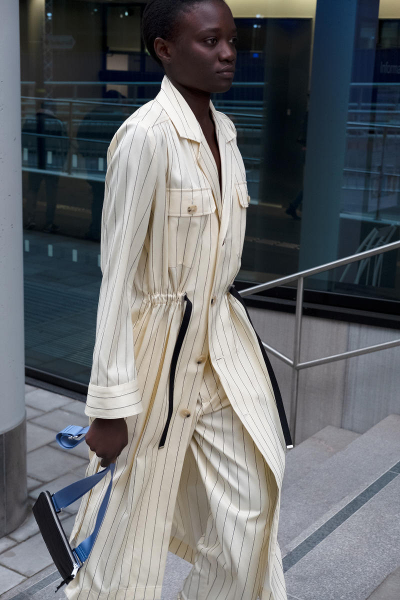 HOPE Pre Fall 2019 Lookbook Blazer Trousers Cream