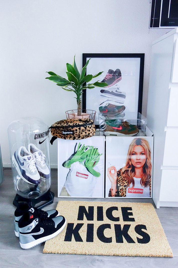 Sneaker Storage Ginney Noa Baes With Kicks