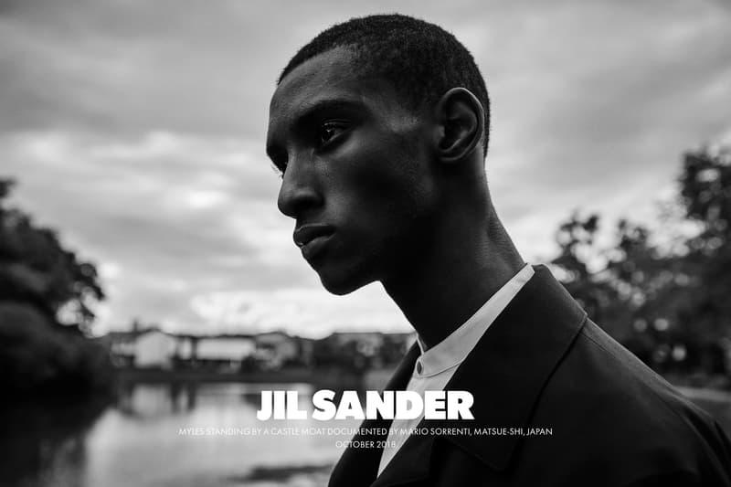 Jil Sander Spring Summer 2019 Campaign Jacket Black Shirt White