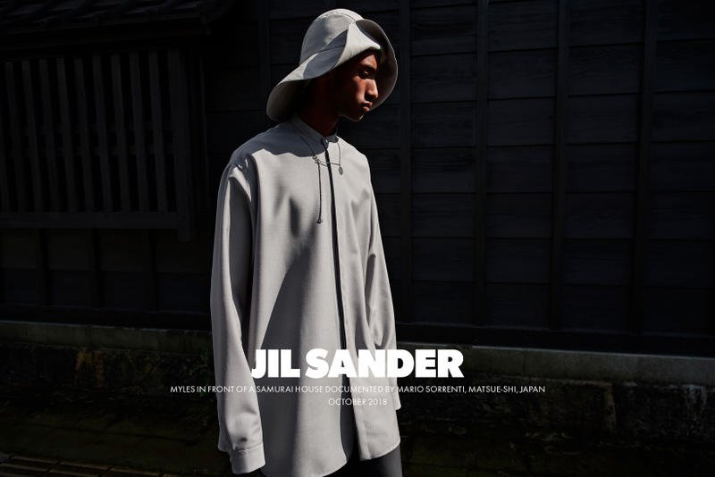 Jil Sander Spring Summer 2019 Campaign Long Sleeved Top Grey