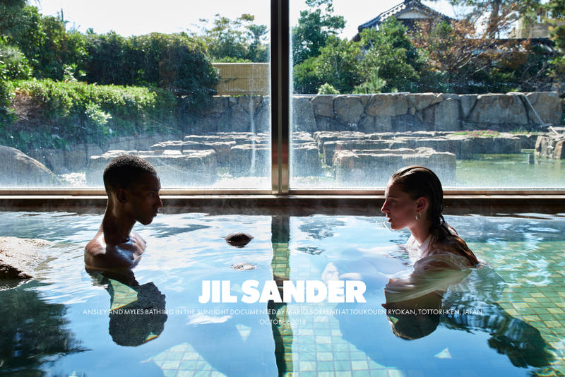 Jil Sander Spring Summer 2019 Campaign Top White