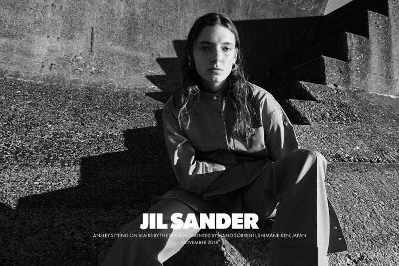 Jil Sander Spring Summer 2019 Campaign Top Pants Grey