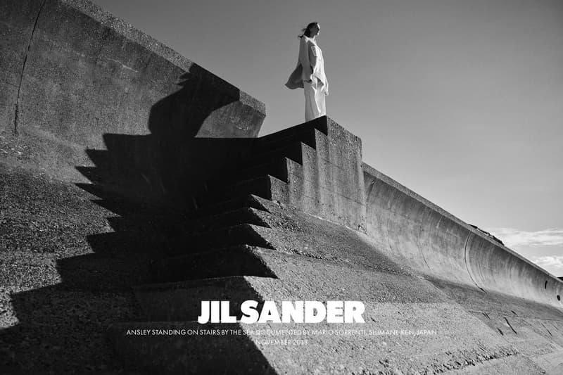 Jil Sander Spring Summer 2019 Campaign Sweater Pants Tan