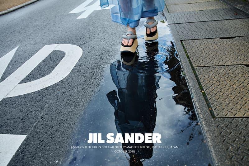 Jil Sander Spring Summer 2019 Campaign Platform Sandals Grey Black
