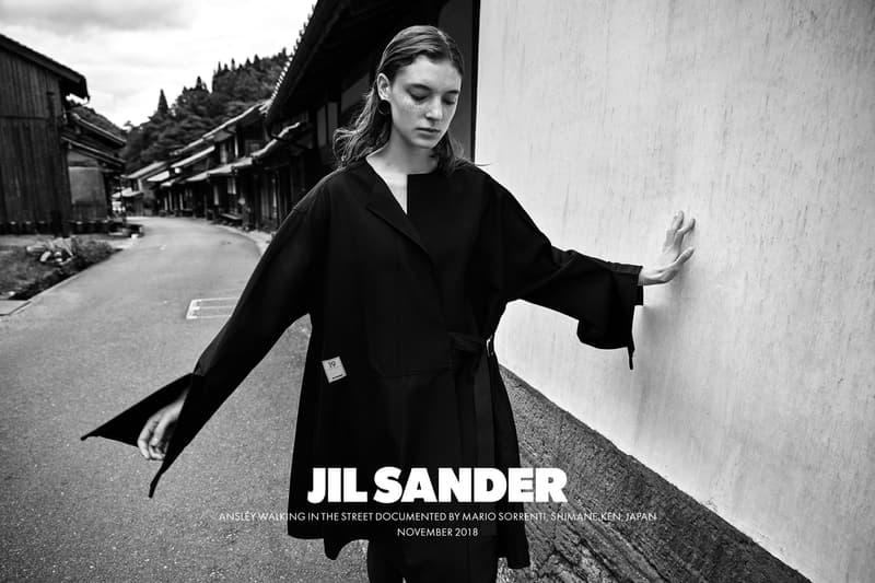 Jil Sander Spring Summer 2019 Campaign Oversized Top Black