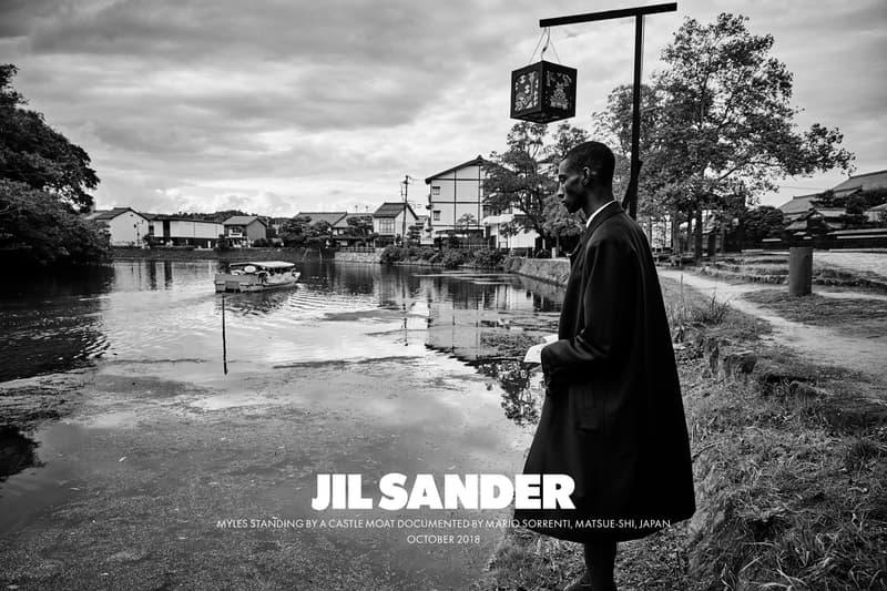 Jil Sander Spring Summer 2019 Campaign Oversized Jacket Black