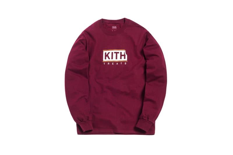 KITH Treats Capsule Collection Long Sleeve T-shirt Maroon