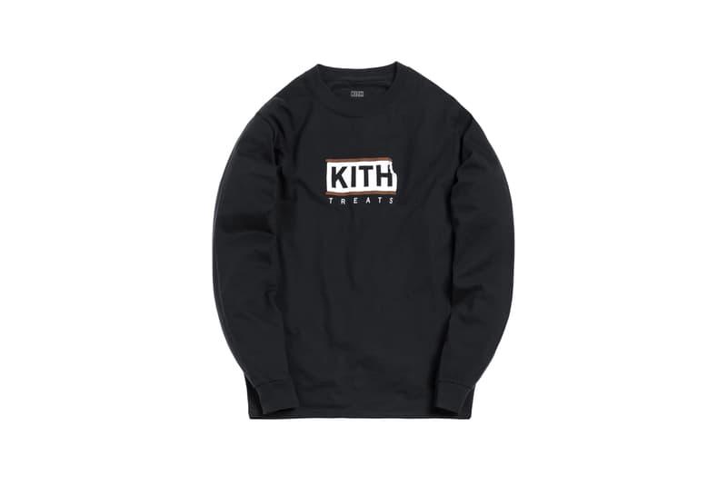KITH Treats Capsule Collection Long Sleeve T-shirt Black