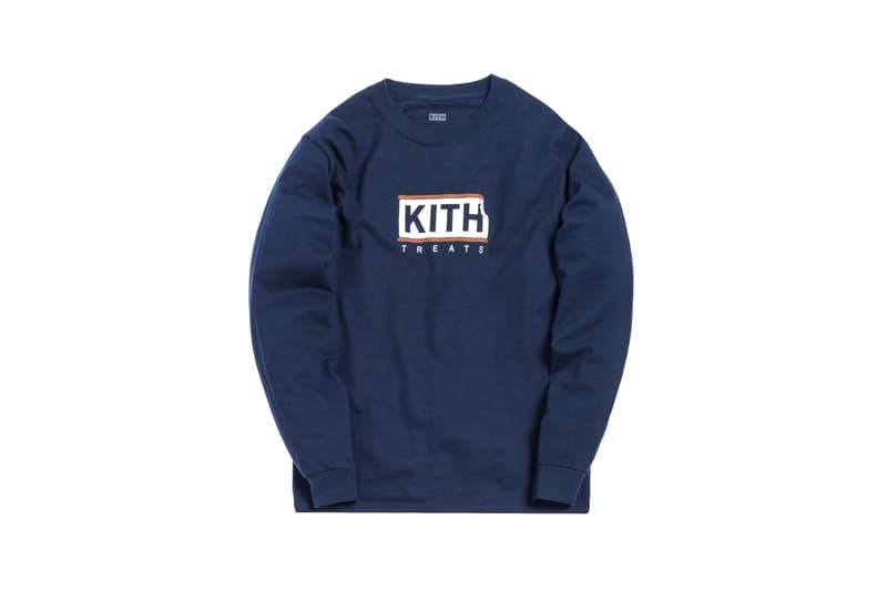 KITH Treats Capsule Collection Long Sleeve T-shirt Navy