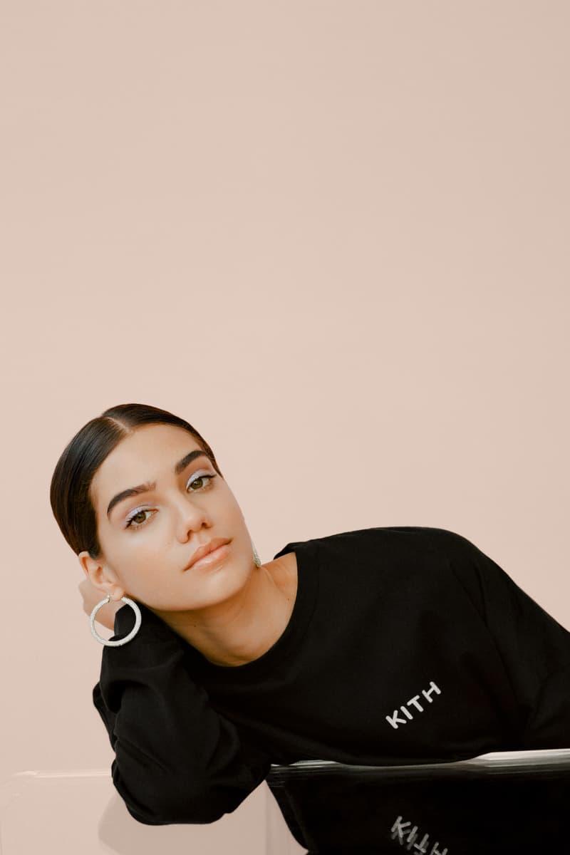 kith Women Glitter Shirt Black