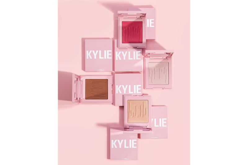 Kylie Cosmetics Releases Powders Blushes Makeup Kylie Jenner Beauty Highlighter Collection