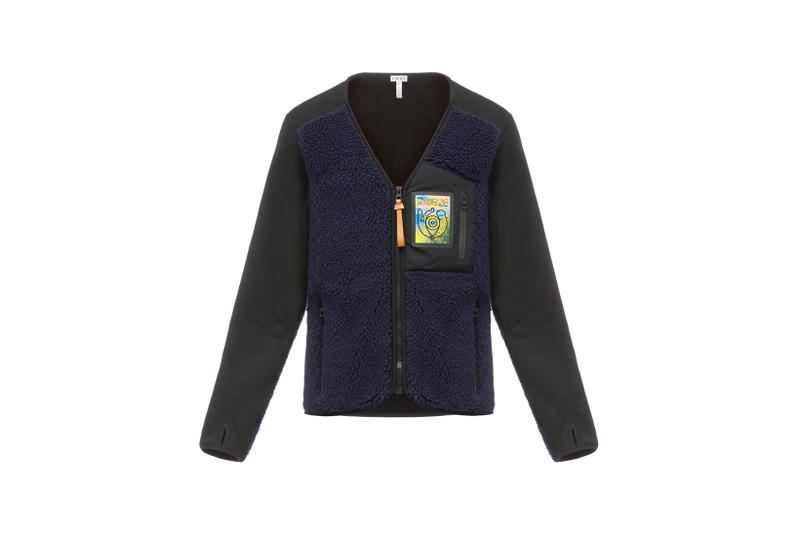LOEWE Eye Nature Collection Fleece Zip Up Black