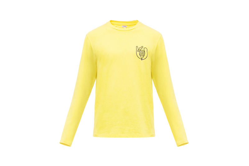 LOEWE Eye Nature Collection Long Sleeve Yellow