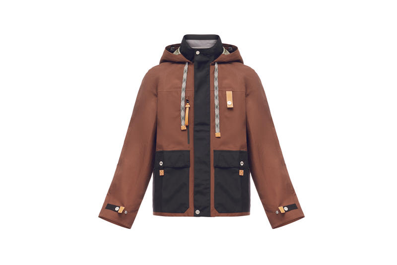 LOEWE Eye Nature Collection Jacket Brown
