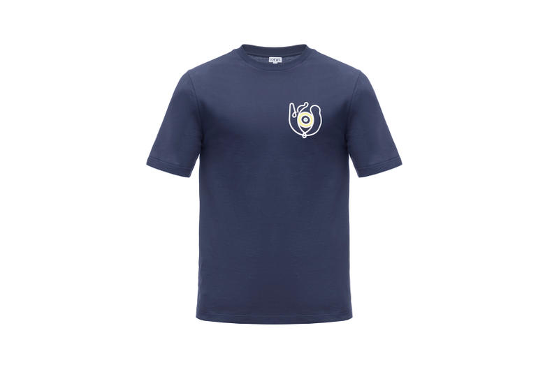 LOEWE Eye Nature Collection T-shirt Navy