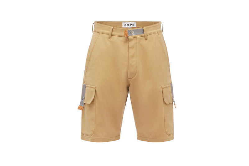 LOEWE Eye Nature Collection Khaki Shorts