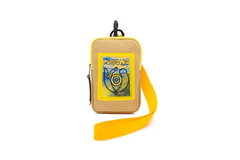 LOEWE Eye Nature Collection Mini Bag Yellow