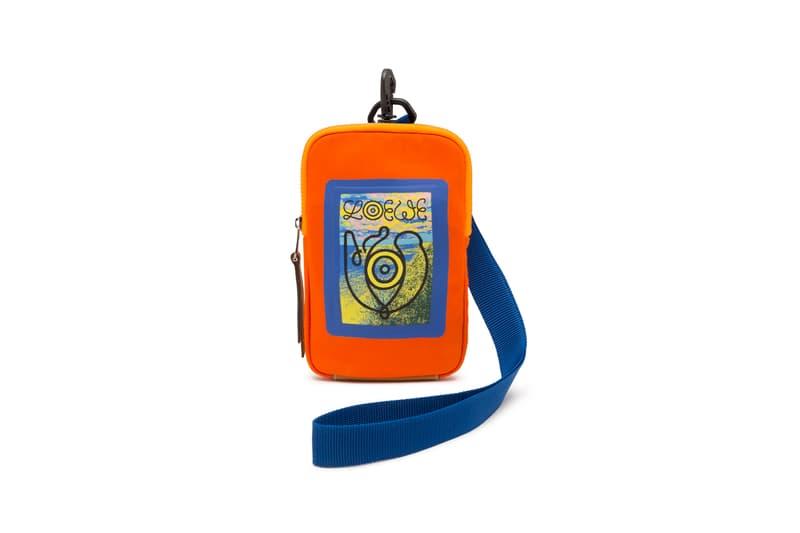 LOEWE Eye Nature Collection Mini Bag Orange
