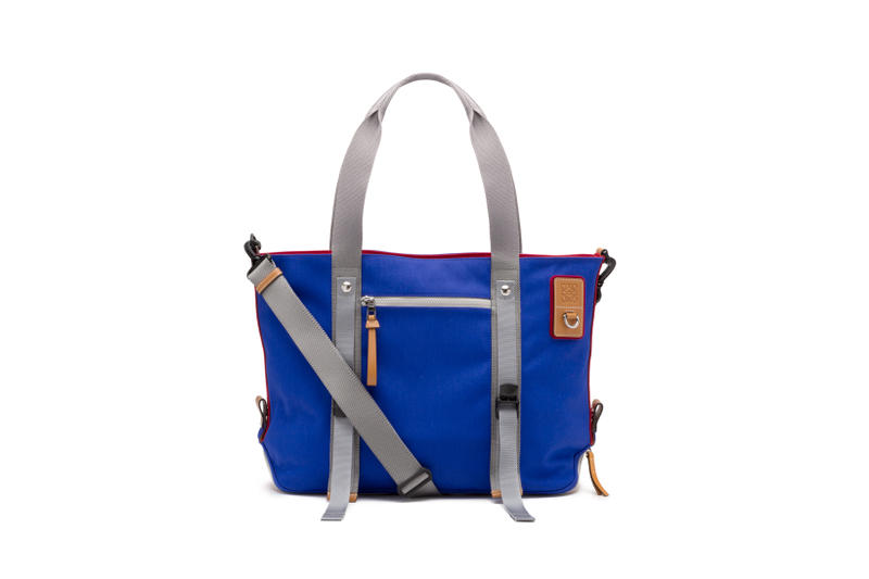 LOEWE Eye Nature Collection Tote Blue
