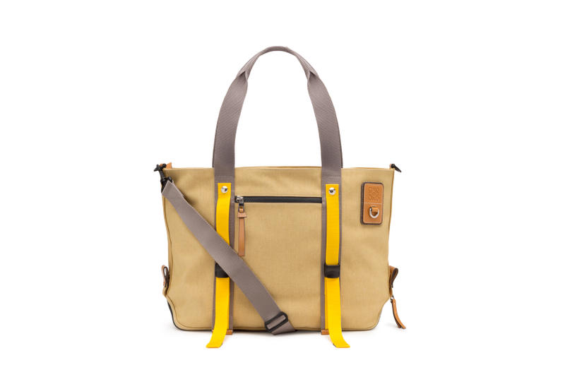 LOEWE Eye Nature Collection Tote Tan