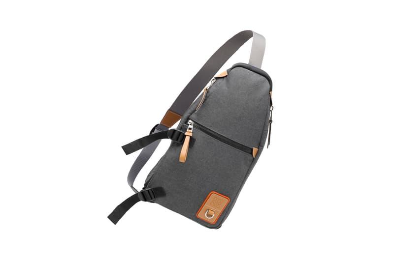 LOEWE Eye Nature Collection Shoulder Bag Grey