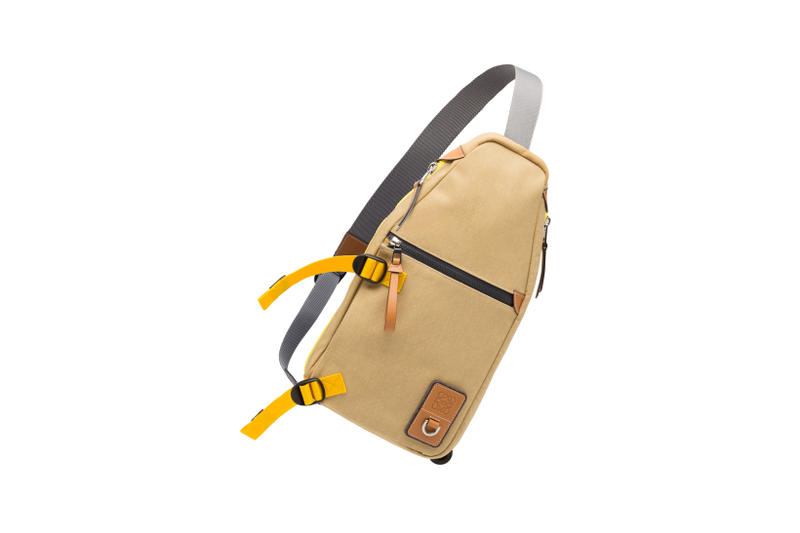 LOEWE Eye Nature Collection Shoulder Bag Tan