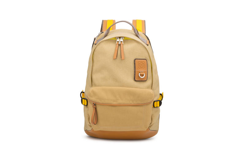 LOEWE Eye Nature Collection Backpack Tan