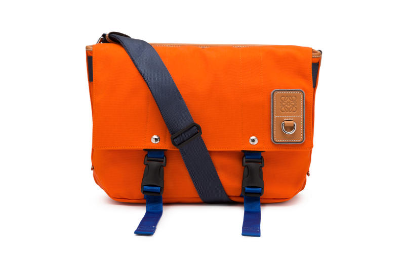 LOEWE Eye Nature Collection Messenger Bag Orange
