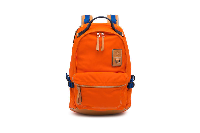 LOEWE Eye Nature Collection Backpack Orange