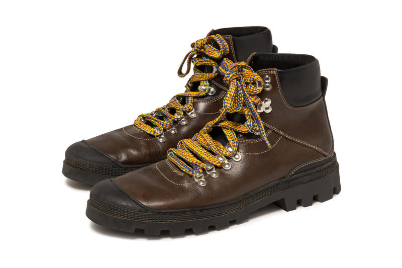 LOEWE Eye Nature Collection Hiking Boots brown