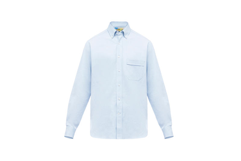 LOEWE Eye Nature Collection Collared Shirt Light Blue