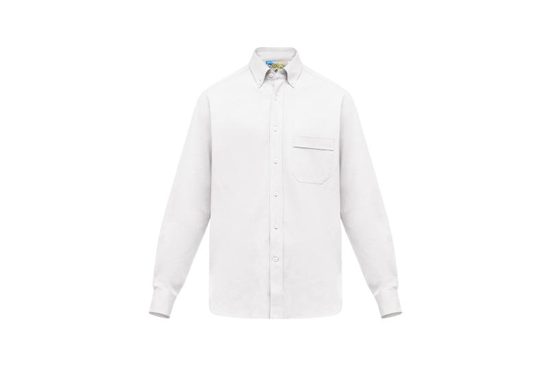 LOEWE Eye Nature Collection Collared Shirt White