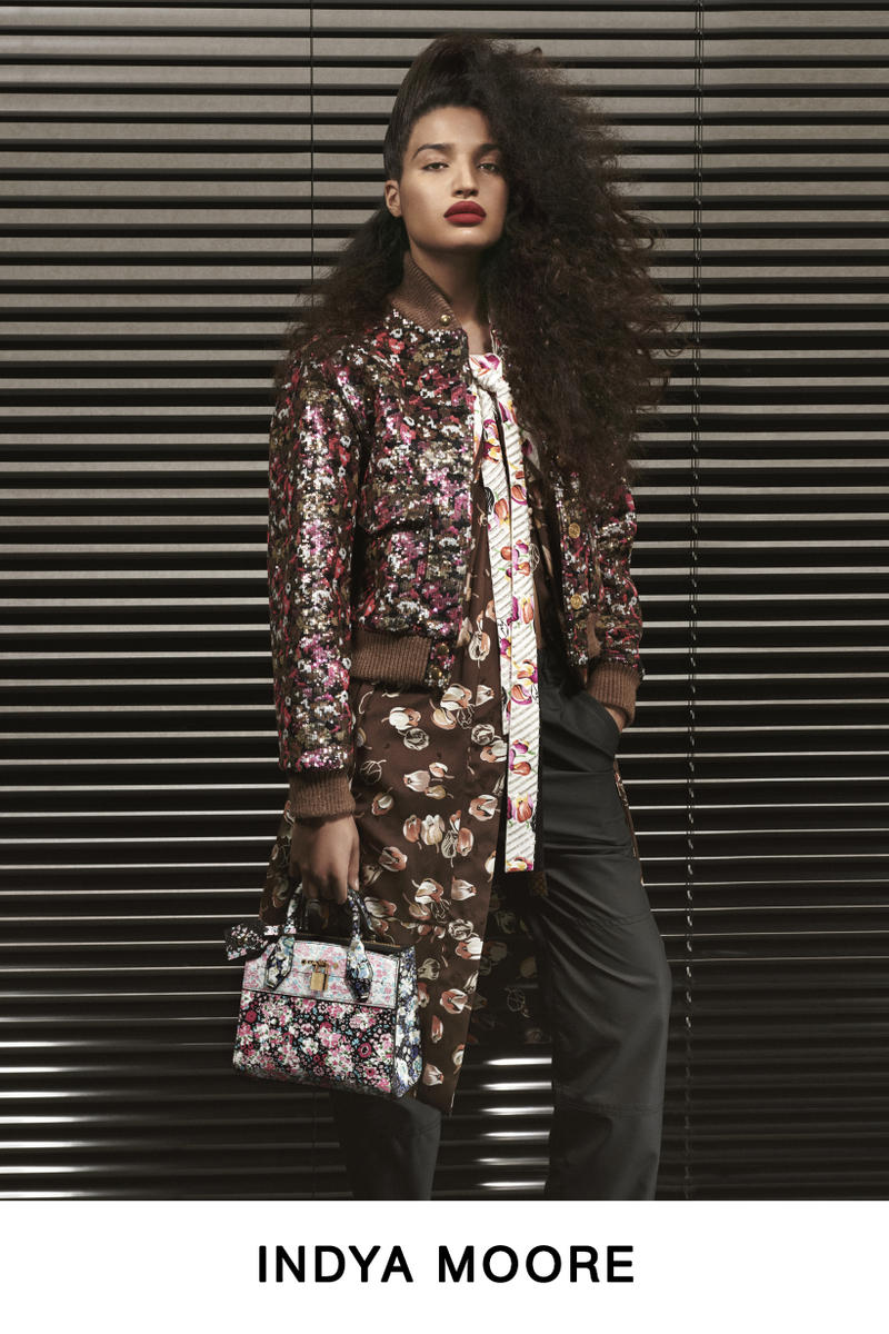 Louis Vuitton Pre-Fall 2019 Lookbook Indya Moore Jacket Brown
