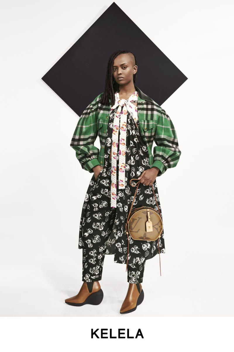 Louis Vuitton Pre-Fall 2019 Lookbook Kelela Top Green