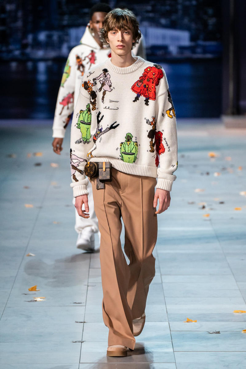 Virgil Abloh's Louis Vuitton Fall/Winter 2019 Runway Collection Paris Fashion Week Mens Full Michael Jackson